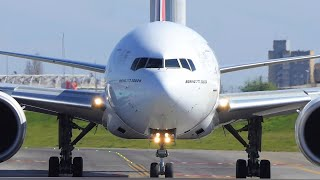Download lagu BOEING 777-300ER, AIRBUS A21neo and More | Landings and Departures