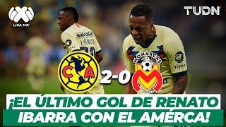 ¡A la final! El último gol de Renato Ibarra con las águilas | América vs Morelia - CL2020 | TUDN
