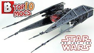 Amazing UCS TIE Silencer!!!   LEGO Star Wars   TOP 10 MOCs of the Week