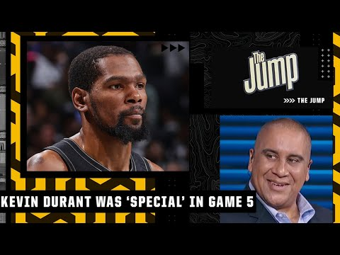 Kevin Durant putting the team on his back in Game 5 was 'special' - Marc J. Spears | The Jump