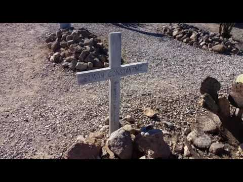 Boot Hill in Tombstone, Arizona - A Constantine Headstone - March 21, 2017 - Travels With :Phil