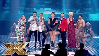 The X Factor Medley - The Time (Dirty Bit) | The Final | The X Factor UK 2014
