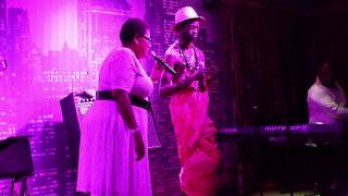 Mumba Yachi performs at the Misty with Sibongile Khumalo