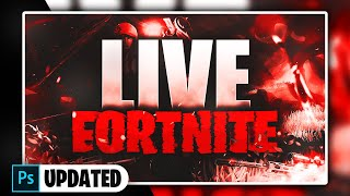 Fortnite Thumbnail Template [ + PHOTOSHOP FREE DOWNLOAD ] *updated