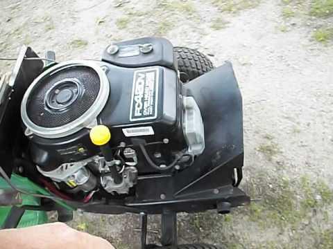 John Deere Fc420v Kawasaki Engine
