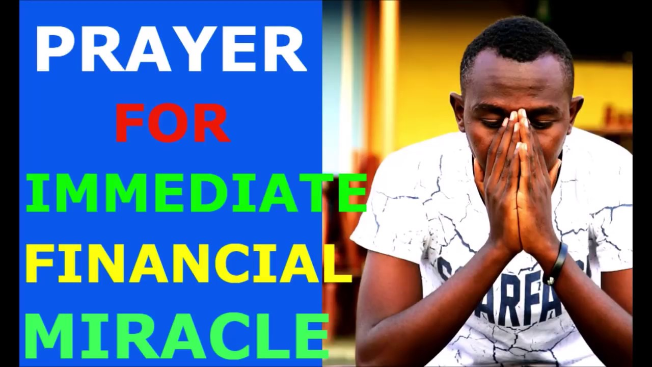 PRAYER FOR IMMEDIATE FINANCIAL MIRACLE by Brother Carlos Oliveira