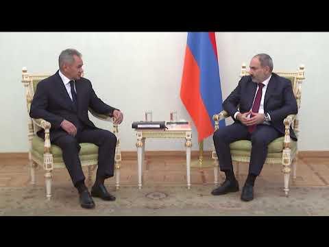Рабочий визит Министра обороны России в Республику Армения