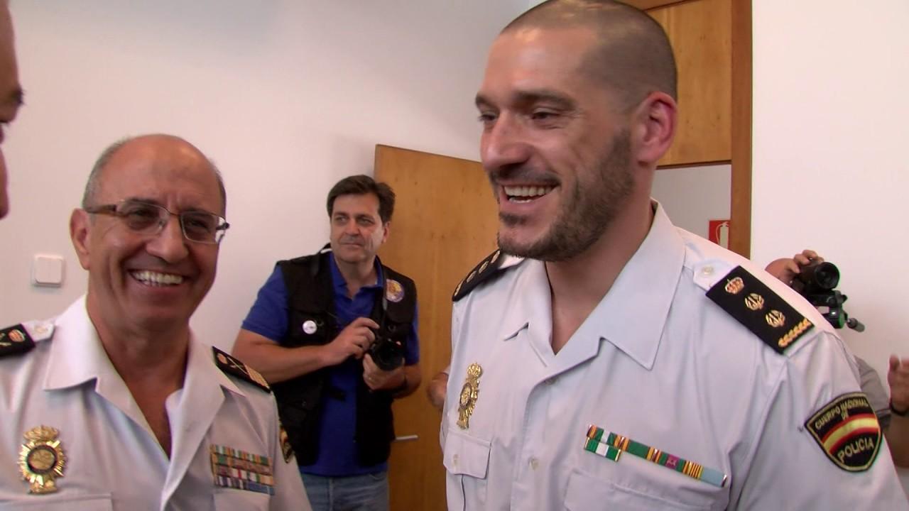 Luis jes s esteban toma posesi n de su cargo como - Policia nacional algeciras ...