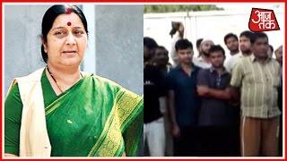 Sushama Swaraj Leaps Into Action For Rescuing 800 Stranded Indian In Saudi Arabia