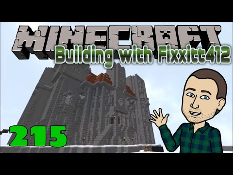 Minecraft - Realm of Vasten I: 215 Starting My First Castle