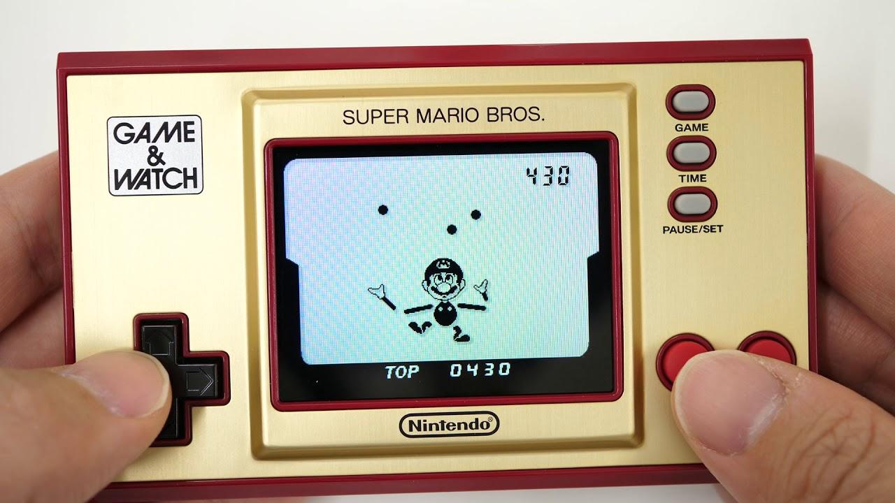 スーパー マリオ & ウオッチ ブラザーズ ゲーム