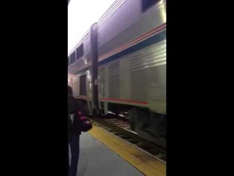 Amtrak 58 City Of New Orleans arriving at Jackson Mississippi!