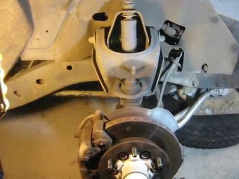 replace shocks and ball joints — holden rodeo / isuzu pickup