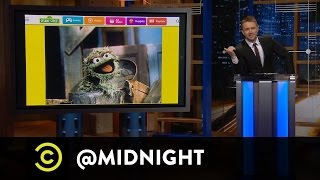 David Rees, Phil Hanley and Eugene Mirman - Street Tough - @midnight with Chris Hardwick