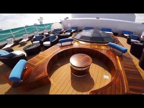Disney cruise video - ship tour of concierge areas