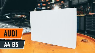 Installation Glühlampe Blinker AUDI A4: Video-Handbuch