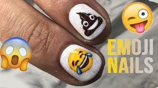 EMOJI NAILS!! THAT