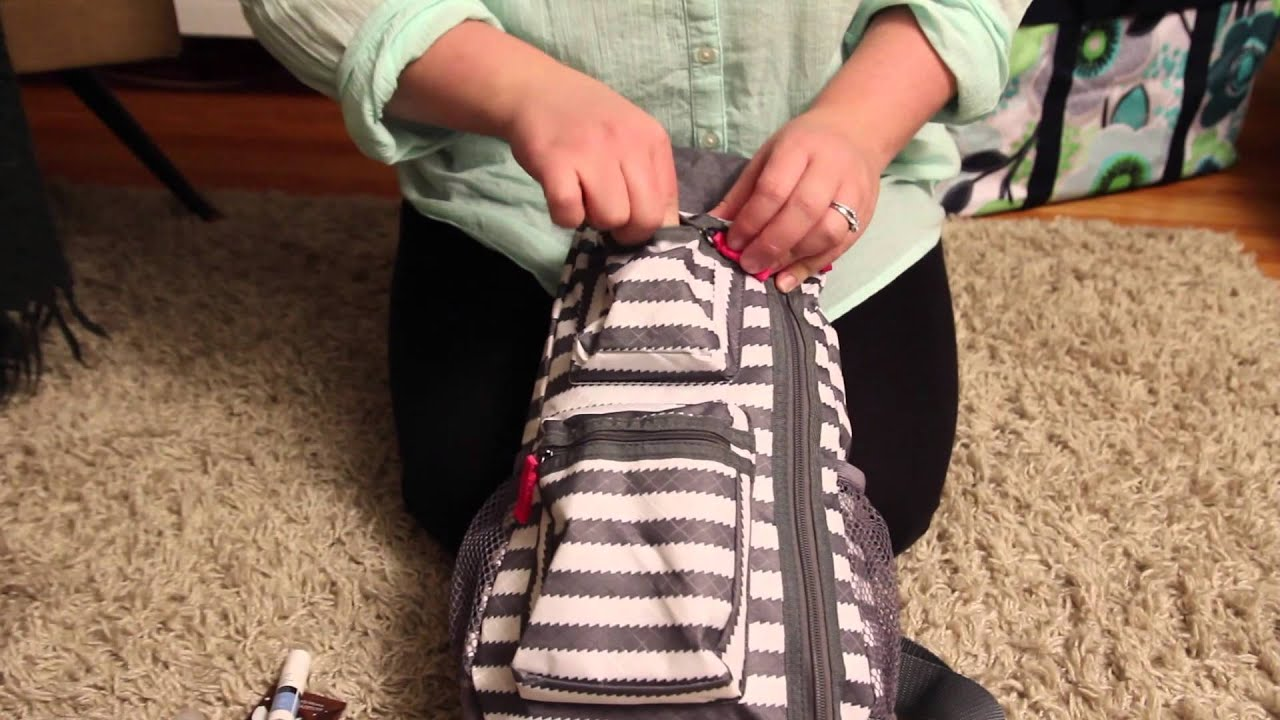 Thirty-One Sling-back Bag - YouTube
