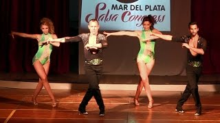 Mar del Plata Salsa Congress 2015 ~ Tropical Gem (Sonido Bestial)