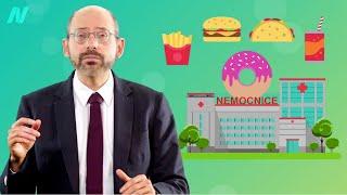 Nemocnice těží z nezdravého jídla