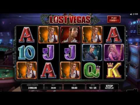 Обзор игрового автомата Lost Vegas (Microgaming)
