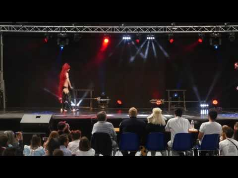 related image - Festival Mangalaxy 2016 - Concours Cosplay Dimanche - 10 - Warhammer 40000 - Eldars noirs