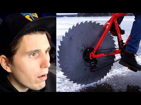 Paluten REAGIERT auf: Dieses Fahrrad fährt auf EIS - Team Paluten