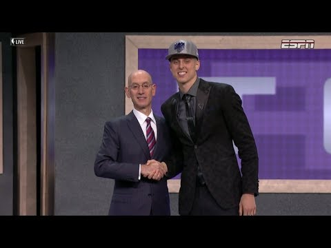 Download Youtube: Zach Collins Drafted 10th Overall By Sacramento Kings In 2017 NBA Draft