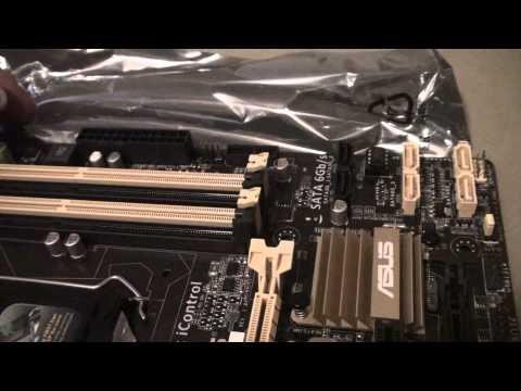 ASUS B85M-E/CSM LGA 1150 Micro ATX Motherboard Unboxing!