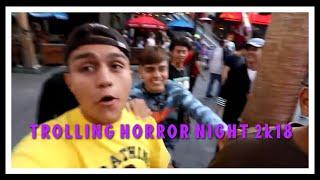 Homies take over Universal Studios Horror Nights 2k18!