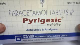 Pyrigesic 500 mg Tablet: View Uses, Side Effects, Price in hindi