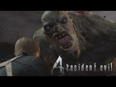Resident Evil 4 (Switch) Leon & Ada Vs El Gigante | All El Gigante Boss Battles