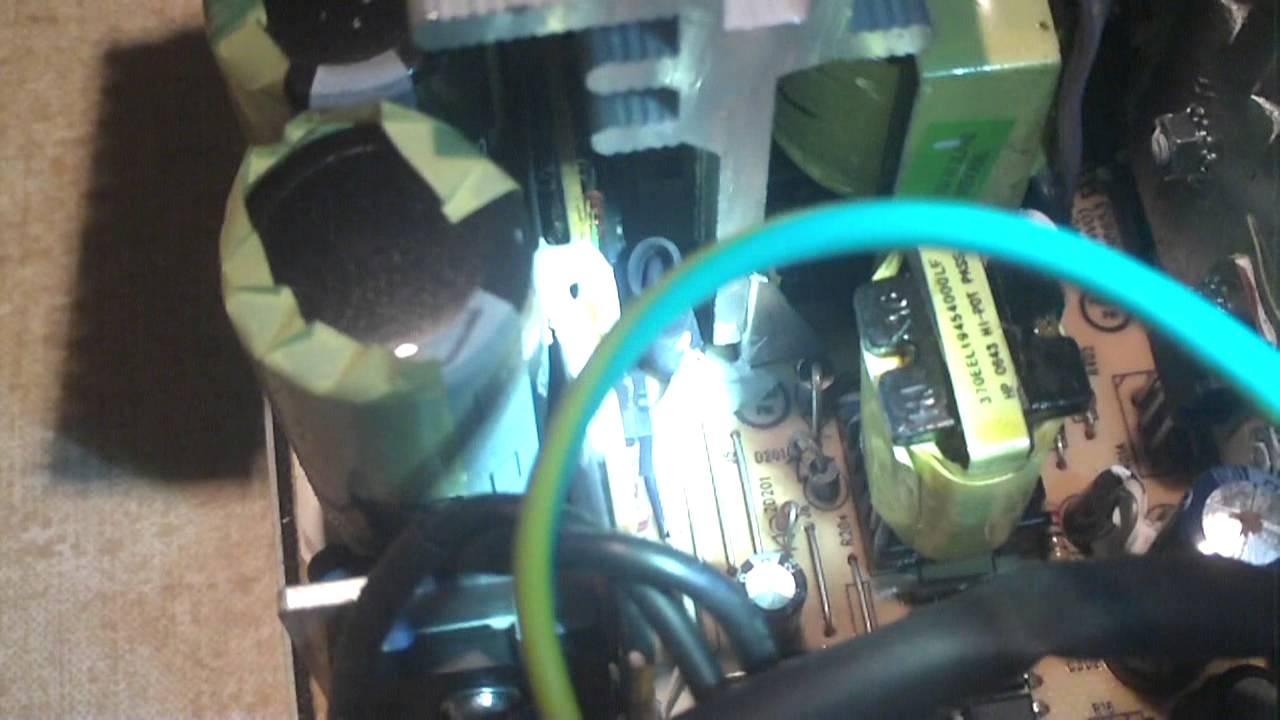 Inside Dell H305N-00 Power Supply - YouTube on