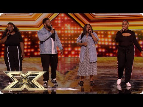 ATTY show The X Factor audience no Mercy! | Auditions Week 4 | The X Factor UK 2018