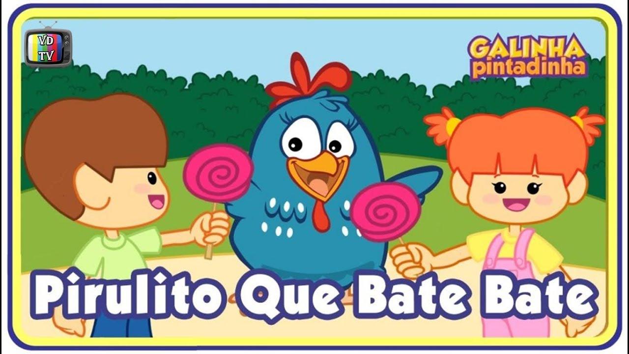Download Pirulito Que Bate Bate - Galinha Pintadinha DVD 3