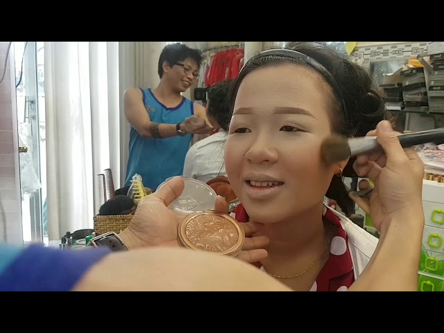 [Áo Cưới - Makeup Nguyễn Tâm] Trang điểm cô dâu - đẹp rực rỡ với