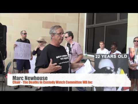 Part 1 Deaths In Custody Rally 25 Feb Perth