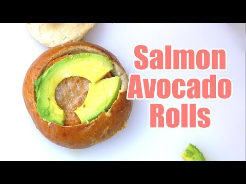 Gamer Eats - Salmon Smart Buns: Brain food for Gamers!