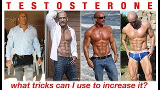 Tricks to increase TESTOSTERONE naturally - science based