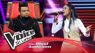Imesha Silva - Wasanthaye Mal (වසන්තයේ මල්) | Blind Auditions | The Voice Sri Lanka Thumbnail