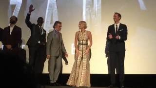 Tarzan Premiere London Intros with Alexander Skarsgard, Margot Robbie, Christoph Waltz and Co