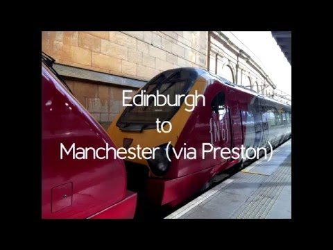 Rail from Edinburgh to Manchester
