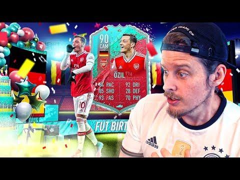 MAD LAD MESUT?! 90 FUT BIRTHDAY OZIL PLAYER REVIEW! FIFA 20 Ultimate Team