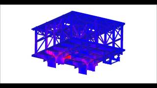 Structure steel design of FPSO