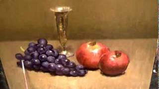 GRAPES - painting demonstration(http://oilpaintingdemos.blogspot.com (for tutorial