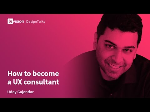 DesignTalk Ep. 55: How to become a UX consultant