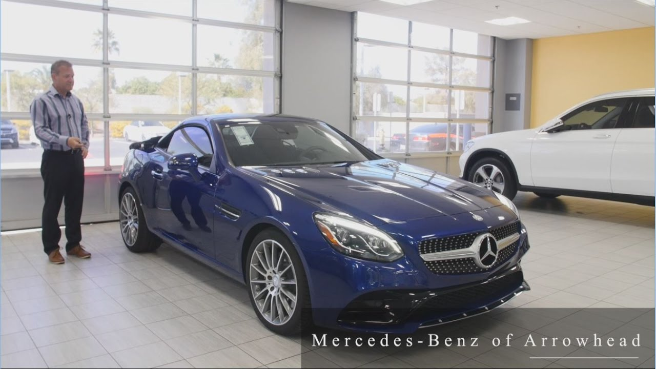 2017 mercedes benz slc slc 300 all about the safety for Arrowhead mercedes benz