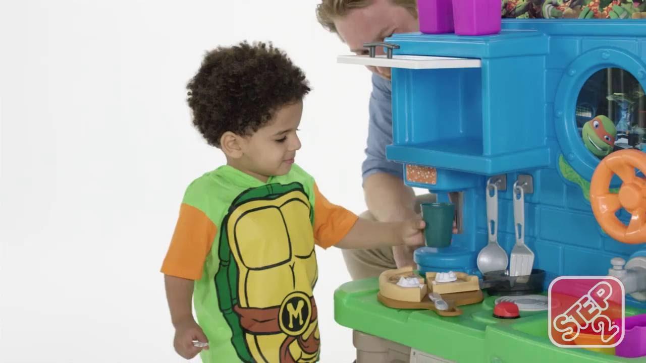Superieur Step2 Teenage Mutant Ninja Turtles™ Pizza Kitchen
