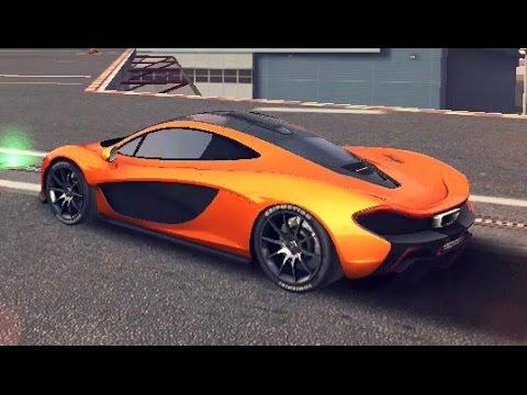 Asphalt 8 - McLaren P1 (San Diego Rev.) 51.216