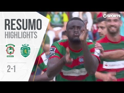 Resumo | Highlights: Marítimo 2-1 Sporting (Liga 17/18 #34)